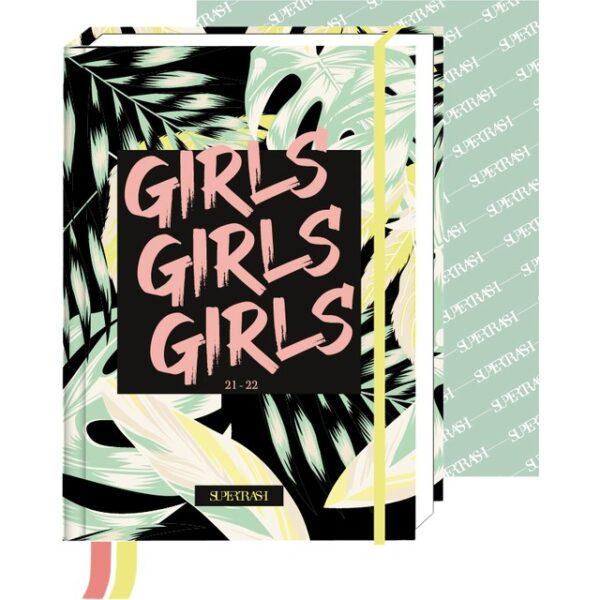 Schoolagenda Supertrash Girls 2021 - 2022