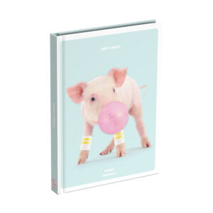 Schoolagenda Funny Animals Pig 2021 - 2022