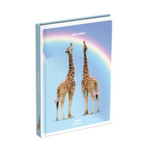 Schoolagenda Funny Animals Giraffe 2021 - 2022