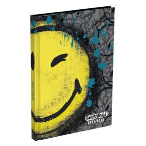Schoolagenda Smiley World graffiti 2021 - 2022