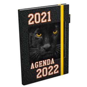 Schoolagenda Nat Geo Junior zwart 2021 - 2022