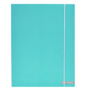 Elastomap Soft Touch Pastel Blauw