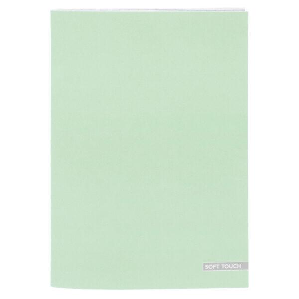 Schrift A4 lijn Soft Green