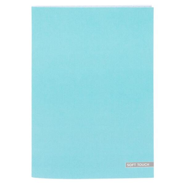 Schrift A4 lijn Soft Blue