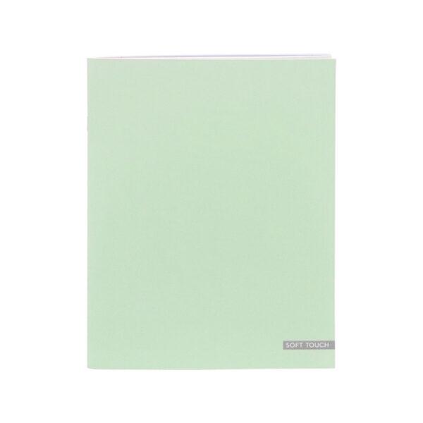 Schrift A5 lijn Soft Green