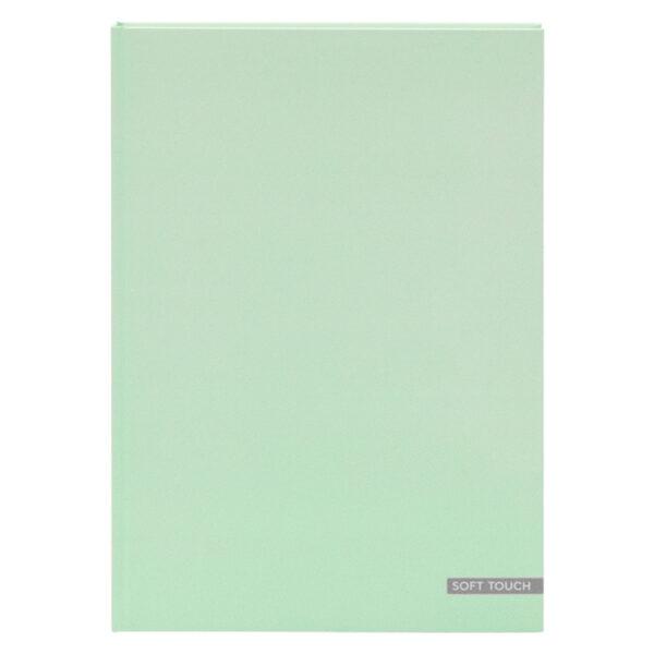 Dummyboek A4 harde kaft blanco vellen pastel groen