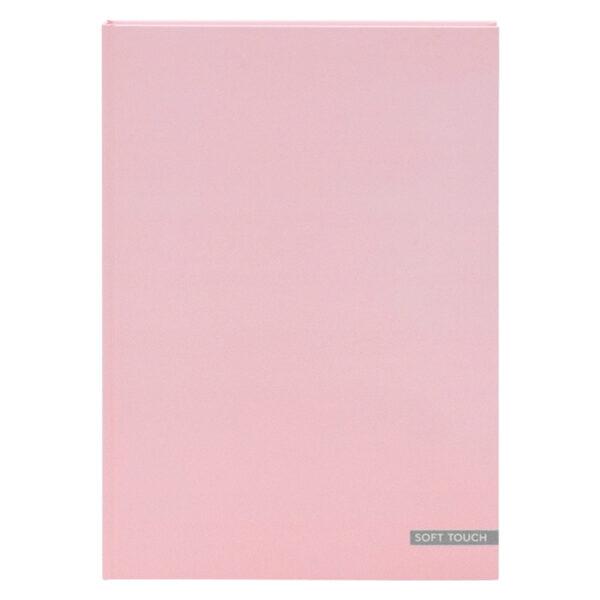 Dummyboek A4 harde kaft blanco vellen pastel roze