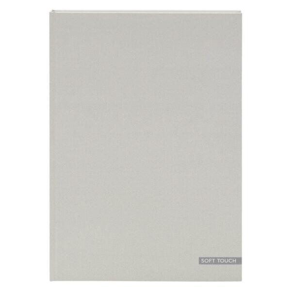 Schrift A4 lijn soft grijs