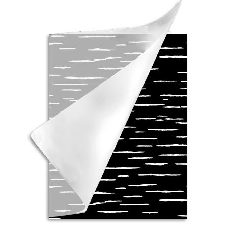 Schrift A4 ruit 10mm Flow