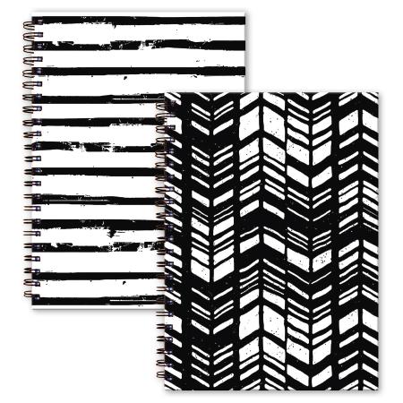 Dummyboek A4 harde kaft blanco vellen flow zwart