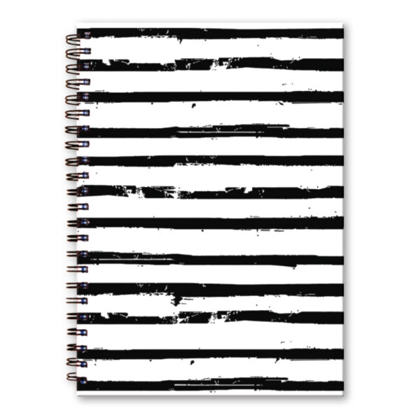 Dummyboek A4 harde kaft blanco vellen flow wit
