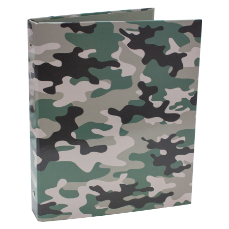 Ringband 4 rings Camouflage groen