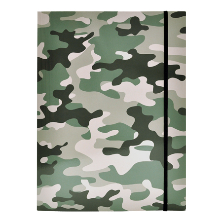 Elastomap Camouflage Groen