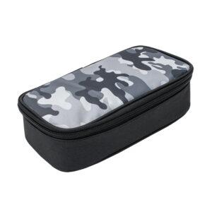 Etui bakmodel Camouflage grijs