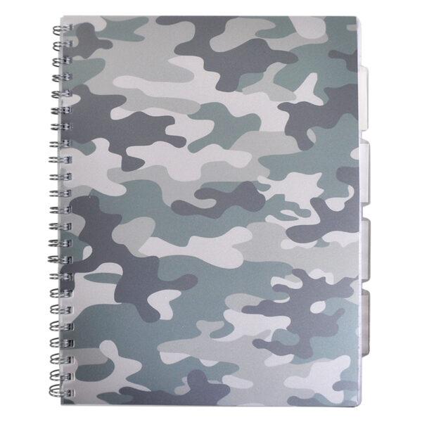 Projectboek A4 Camouflage