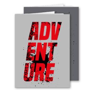 Schrift A4 ruit Adventure 2 stuks