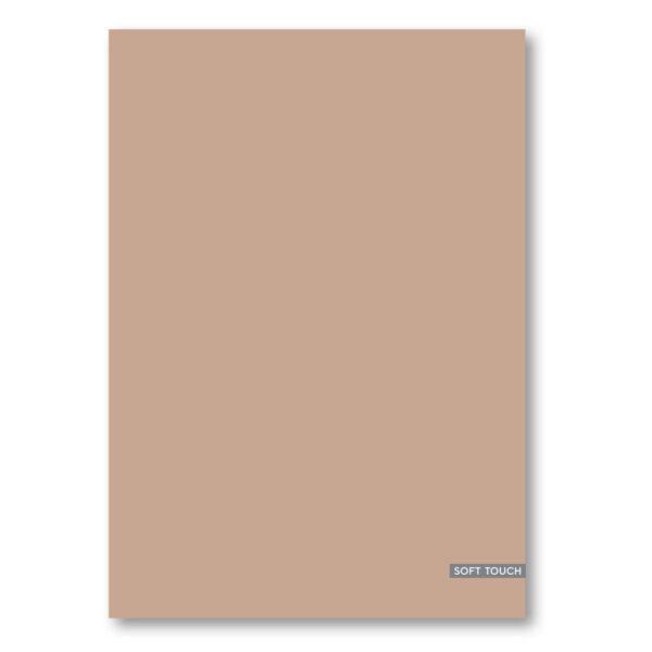 Schrift A4 ruit 10mm Nature roze