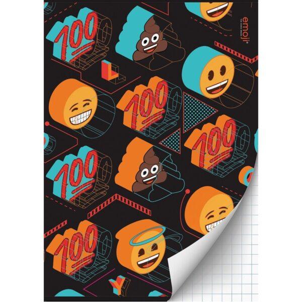 Schrift A4 ruit Emoji