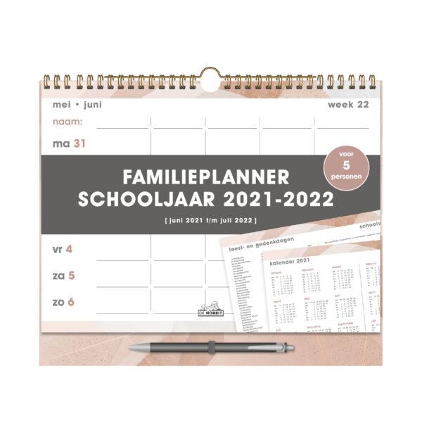 FAMILIEPLANNER SPIRAAL D3