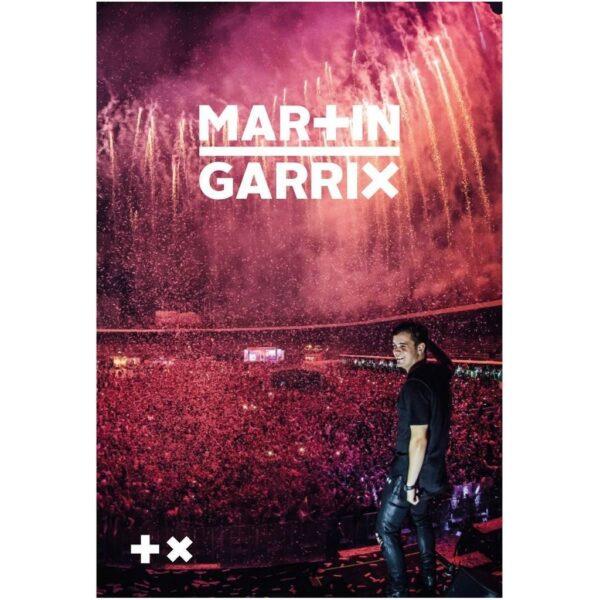 Schrift A4 lijn Martin Garrix