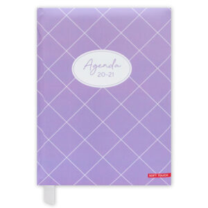 Agenda A5 Soft Purple 2020-2021