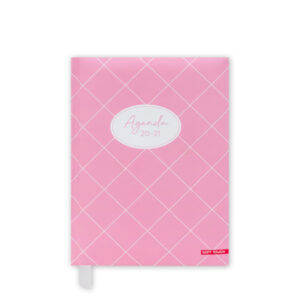 Agenda A6 Soft Pink 2020-2021
