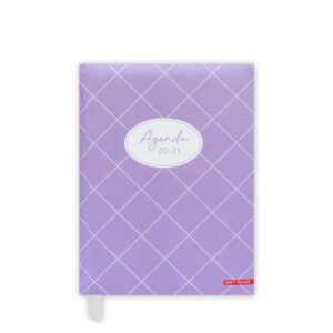 Agenda A6 Soft Purple 2020-2021