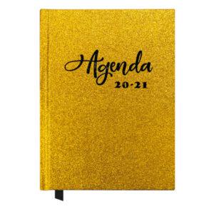 Agenda Glitter Gold A5 2020-2021