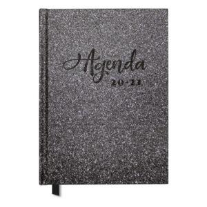 Agenda Glitter Silver A5 2020-2021