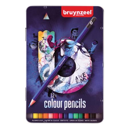 Bruynzeel mXz kleurpotloden in blik