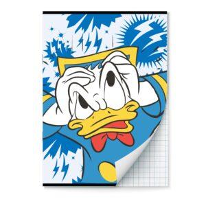 Schrift A4 ruit 10mm Donald Duck 2pak