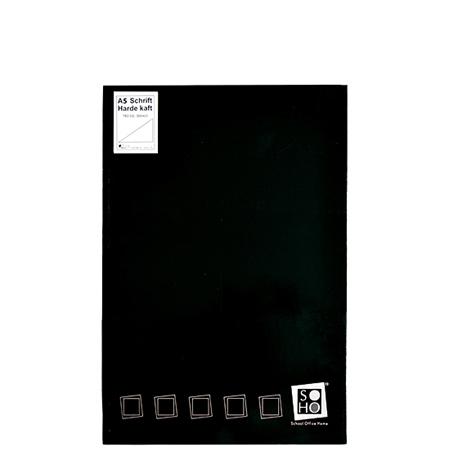 Dummyboek A5 harde kaft blanco vellen zwart