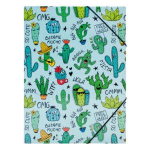 Elastomap Cactus blauw