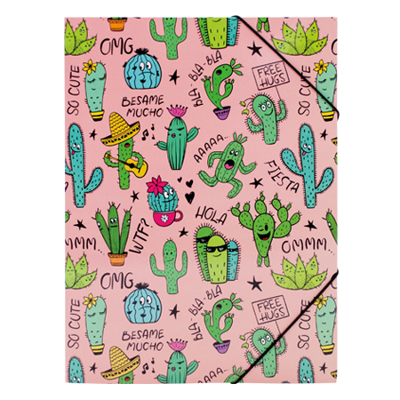 Elastomap Cactus roze
