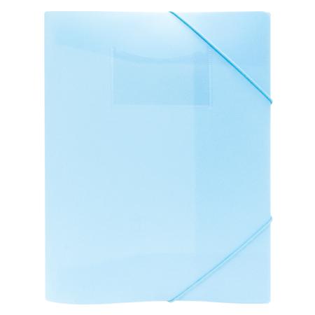 Elastomap plastic Pastel blauw