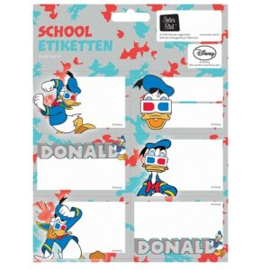 Etiketten Donald Duck