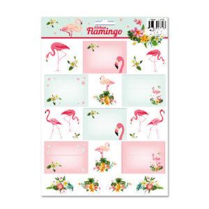 Etiketten Flamingo