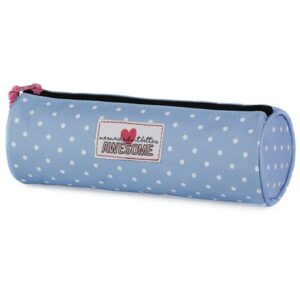 Etui Awesome Girls Blauw rond