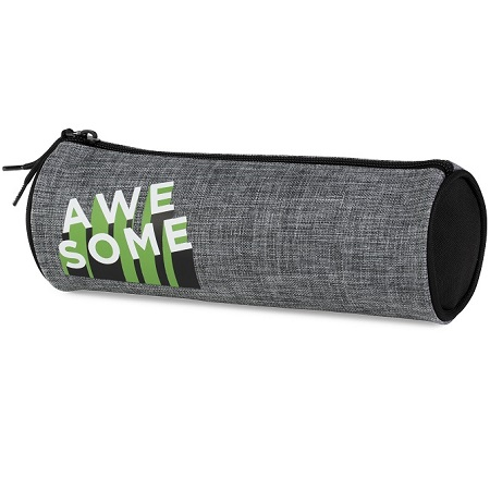 Etui Awesome Grijs rond