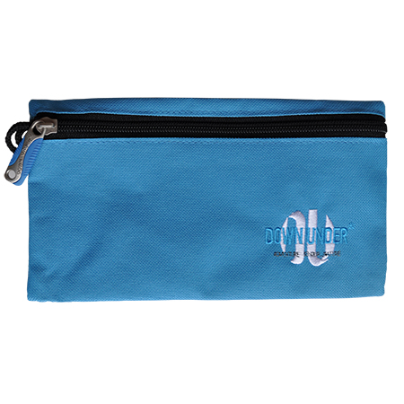 Etui Down Under plat model blauw