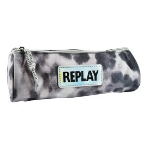 Etui Replay Fashion rond grijs