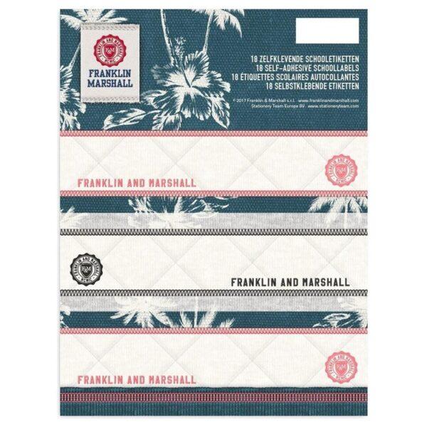 Etiketten Franklin and Marshall