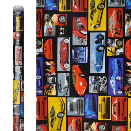 Kaftpapier Cars 5m x 50cm