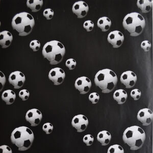 Kaftpapier Voetbal 5m x 50cm