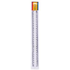 Liniaal 30cm plastic SOHO