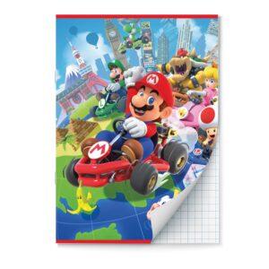 Schrift A4 ruit 10mm Mario Kart 2pak