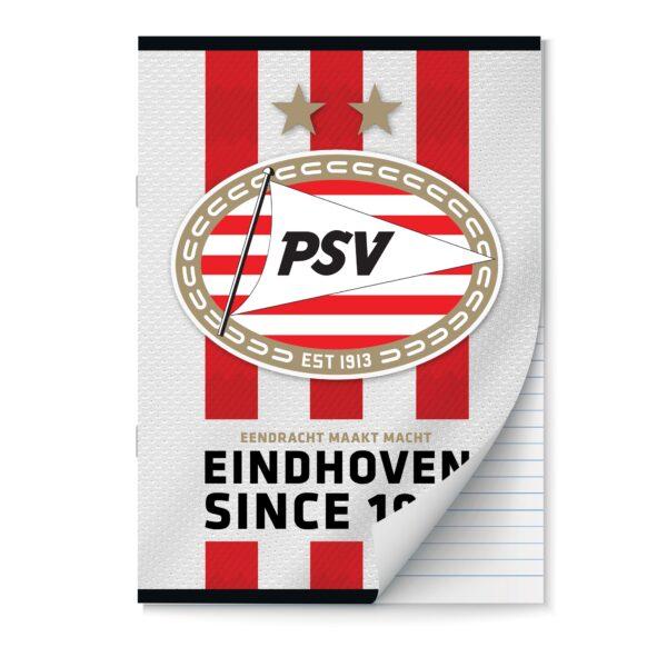 Schrift A4 lijn PSV set van 2