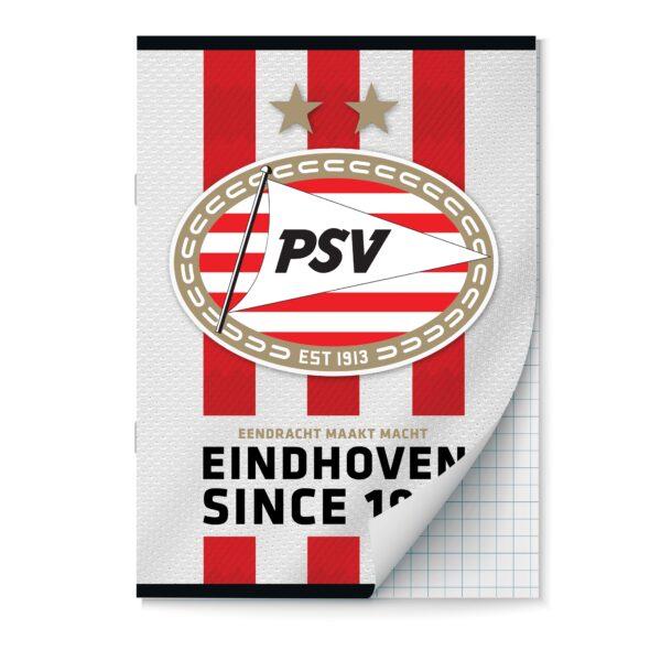 Schrift A4 ruit PSV set van 2