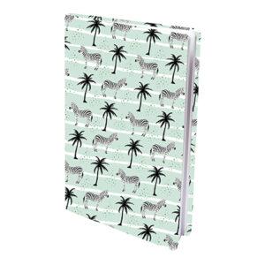 Rekbare boekenkaft A4 Zebra