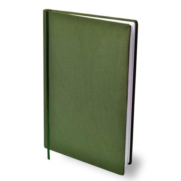 Rekbare boekenkaft Army groen